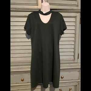 Moss Green Short Sleeve Dress by Sanctuary